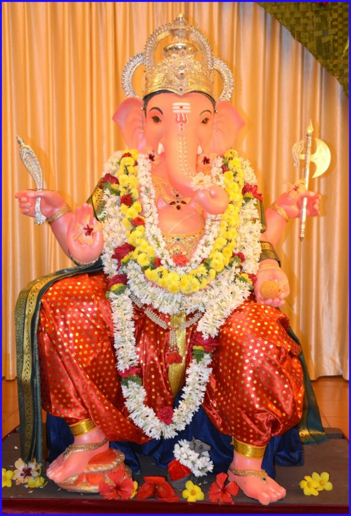 Alikeyalli Pujisalpatta Ganesha