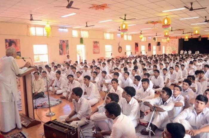 Gandhi Jayanthi Speech by MI Bhat